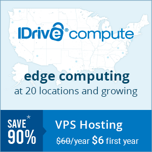 IDrive Compute: edge computing at 20 locations and growing
