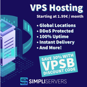 SimpliServers VPS