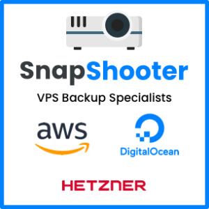 SnapShooter: Backup solutions for DigitalOcean and more